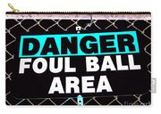 Foul Ball Area Carry-all Pouch