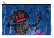 Foundation Number 102 Robot Graffiti  Carry-all Pouch by Bob Orsillo