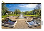 Fountain And Park In Zagreb Carry-all Pouch