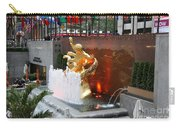 Fountain And Prometheus - Rockefeller Center Carry-all Pouch