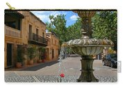 Fountain At Tlaquepaque Arts And Crafts Village Sedona Arizona Carry-all Pouch
