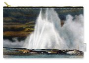 Fountain Geyser Yellowstone Np Carry-all Pouch