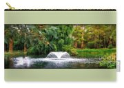 Fountain In The Park Carry-all Pouch