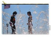 Fountain Of Youth Carry-all Pouch by Karen Wiles