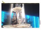 Fountain Square At Night Carry-all Pouch