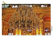 Four And One-half Ton Crystal Chandelier In Ceremonial Hall In Dolmabache Palace In Istanbul-turkey  Carry-all Pouch