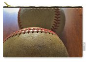 Four Baseballs Carry-all Pouch