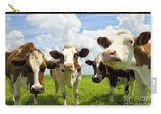 Four Chatting Cows Carry-all Pouch