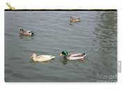 Four Ducks Carry-all Pouch