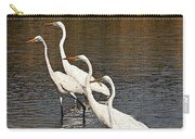 Four Egrets Fishing Carry-all Pouch