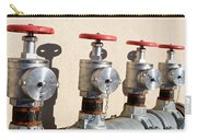 Four Emergency Water Valves Carry-all Pouch by Trever Miller