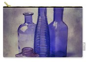 Four Glass Bottles Carry-all Pouch