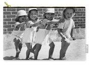 Four Little Girls Having Fun Carry-all Pouch