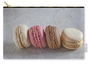 Four Macarons In A Row Carry-all Pouch