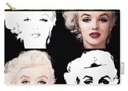 Four Marilyn Monroe Carry-all Pouch