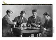 Four Men Playing Cards Carry-all Pouch