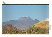 Four Peaks From The Apache Trail Carry-all Pouch