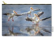 Four Pelican Landing Watercolor Effect Carry-all Pouch