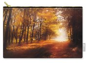 Four Seasons Autumn Impressions At Dawn Carry-all Pouch