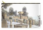 four seasons-winter on lake Como Carry-all Pouch