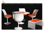 Four Tulip Chairs Carry-all Pouch