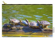 Four Turtles Carry-all Pouch