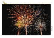 Fourth Of July Fireworks  Carry-all Pouch by Saija  Lehtonen