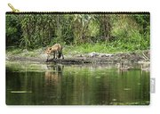 Fox At Water Hole Carry-all Pouch