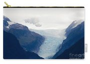 Fox Glacier On South Island Of New Zealand Carry-all Pouch