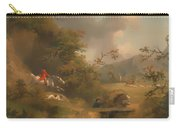 Fox Hunting In Hilly Country Carry-all Pouch