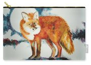 Fox In The Moon Carry-all Pouch