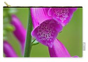 Foxglove Digitalis Purpurea Carry-all Pouch