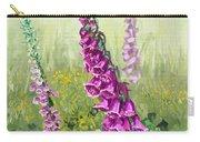 Foxglove Flower Carry-all Pouch