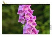 Foxglove Carry-all Pouch