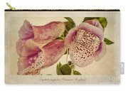 Foxglove Textures Carry-all Pouch
