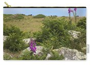 Foxgloves And Cows Carry-all Pouch