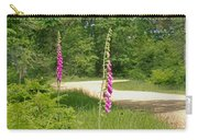 Foxgloves In New Forest Carry-all Pouch