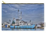 Shrimp Boat At Port Carry-all Pouch
