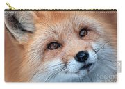 Foxy Lady Carry-all Pouch by Bianca Nadeau