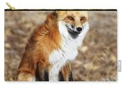 Foxy Carry-all Pouch by Shane Bechler