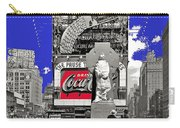 Fr. Duffy Statue Prior To Unveiling Coca Cola Sign Times Square New York City 1937-2014 Carry-all Pouch