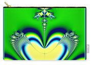Fractal 27 Alien Love Hear No Evil Carry-all Pouch