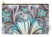 Fractal Abstract Fantasy Flower Garden 2 Carry-all Pouch