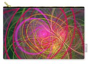 Fractal - Abstract - Loopy Doopy Carry-all Pouch by Mike Savad
