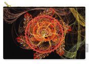 Fractal - Abstract - Mardi Gras Molecule Carry-all Pouch
