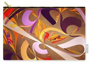 Fractal - Abstract - Space Time Carry-all Pouch by Mike Savad