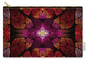 Fractal - Aztec - The All Seeing Eye Carry-all Pouch