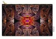 Fractal - Aztec - The Aztecs Carry-all Pouch