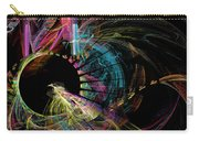 Fractal - Black Hole Carry-all Pouch by Susan Savad