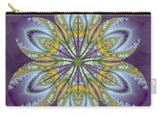 Fractal Blossom Carry-all Pouch by Derek Gedney